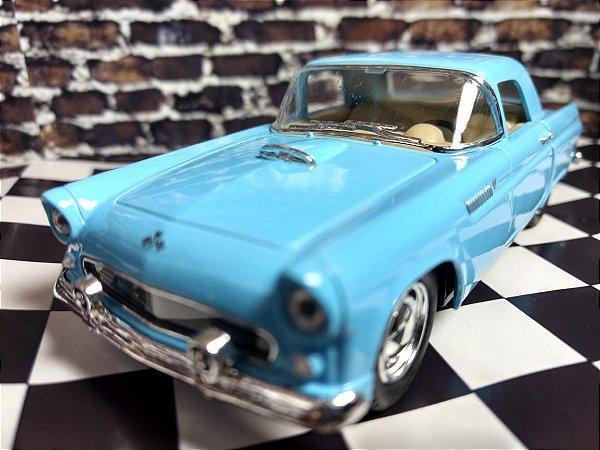 Miniatura 1955 Ford Thunderbird Azul 1 36 Kinsmart