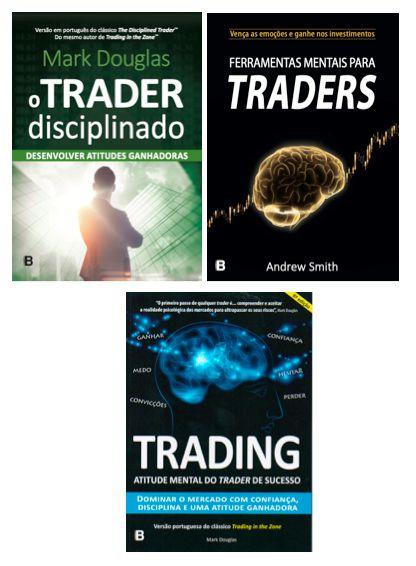 COMBO GG - Trading in the Zone + Trader Disciplinado + Ferramentas Mentais