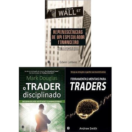 PRÉ-VENDA: Ferramentas Mentais para Traders  + Trader Disciplinado + Reminiscência- LANÇAMENTO