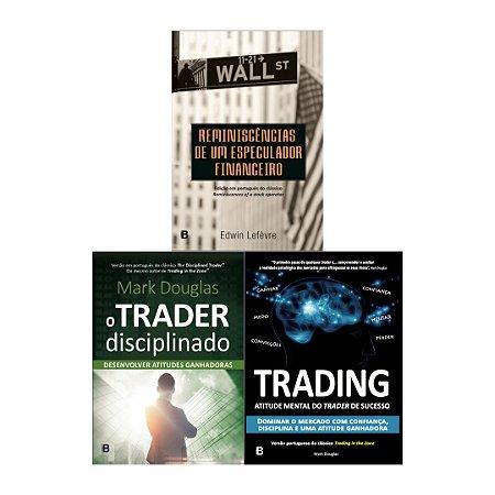 PRÉ-VENDA: Trader Disciplinado + Trading  + Reminiscência- LANÇAMENTO