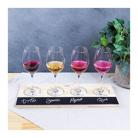 Suporte Degustação Vinho Just Love-Uatt