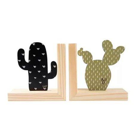 Aparador De Livros Natural Colors Cactus-Uatt