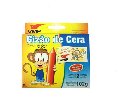Gizão De Cera 12 Cores - VMP