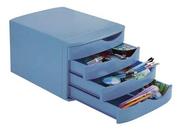 Gaveteiro Azul Pastel - Waleu