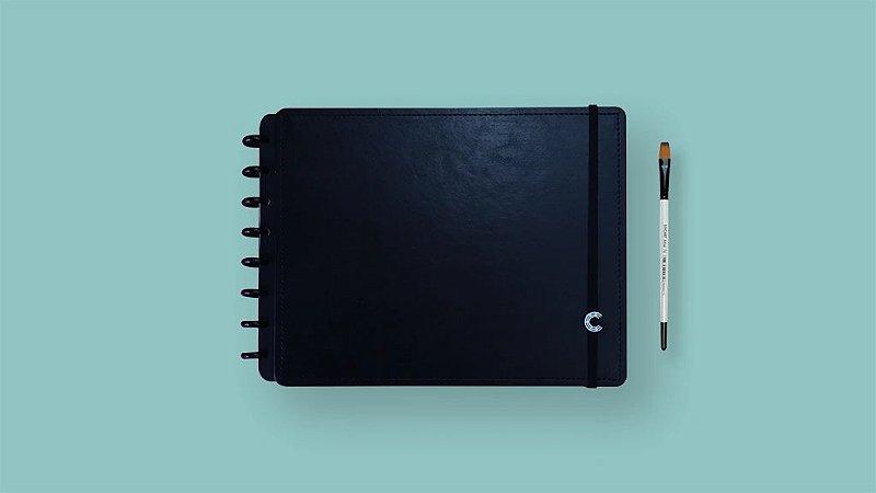 Sketchbook CI Basic Black A4 - Caderno Inteligente