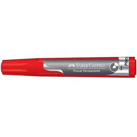 Pincel Permanente Vermelho - Faber Castell