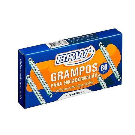 Grampo Para Encadernação Metal 50 Un - BRW