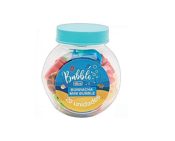 Borracha Mini Bubble Pote - Tilibra