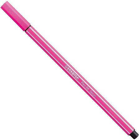 Caneta Pen  68/056 Rosa Neon - Stabilo