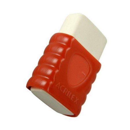 Borracha Colorida Com Capa Plástica - Acrilex