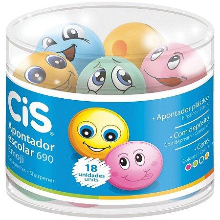 Apontador Emoji C/ Depósito 690 - Cis