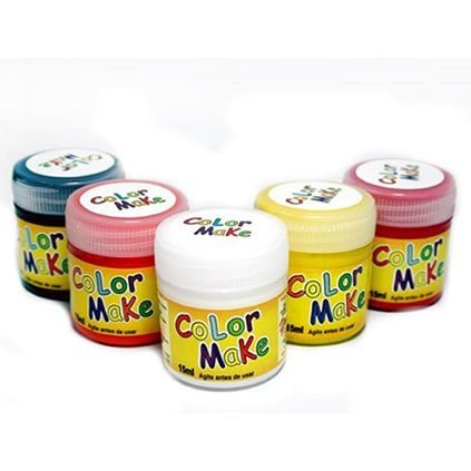Pintura Facial Tinta Liquida Kids  15ml  - Colormake