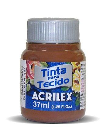Tinta Tecido Marrom 37ml - Acrilex