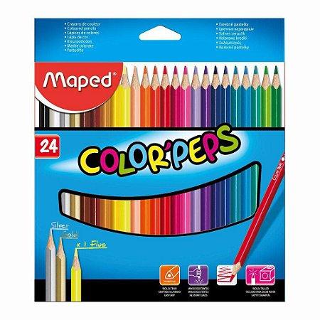Lapis De Cor  Color Peps 24 Cores