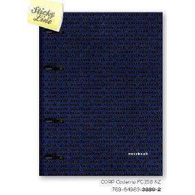 Caderno Organizador Corporate Fichário 158 Az - Otima