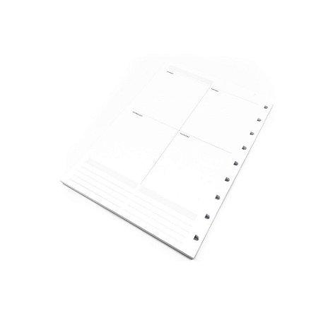 Refil Planner Long Life Maxi Permanente