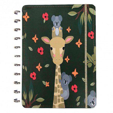Caderno Inteligente Médio Girafa