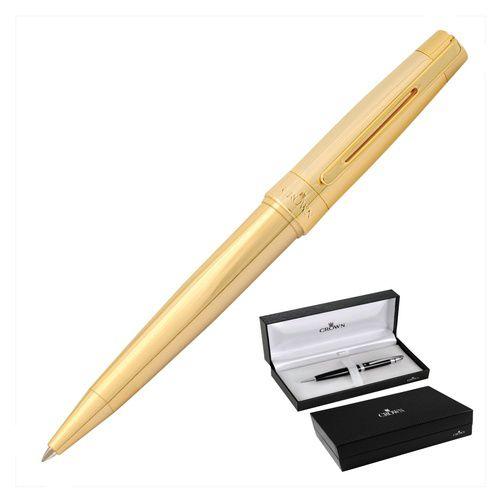 Caneta Esferográfica Dourado President-Crown