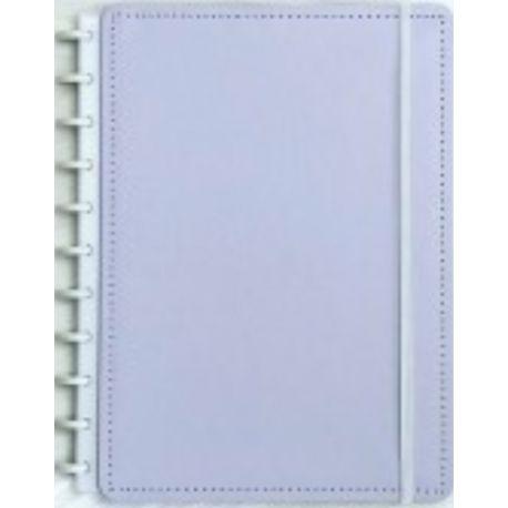 Caderno Grande Lilás Pastel - Caderno inteligente
