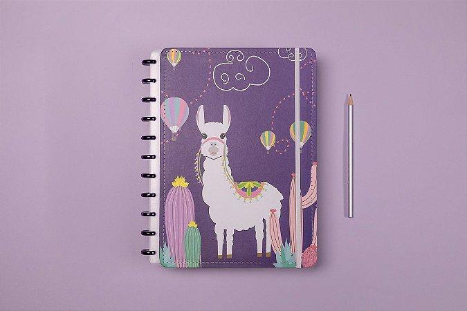 Caderno Grande Zoo Alpaca - Caderno Inteligente