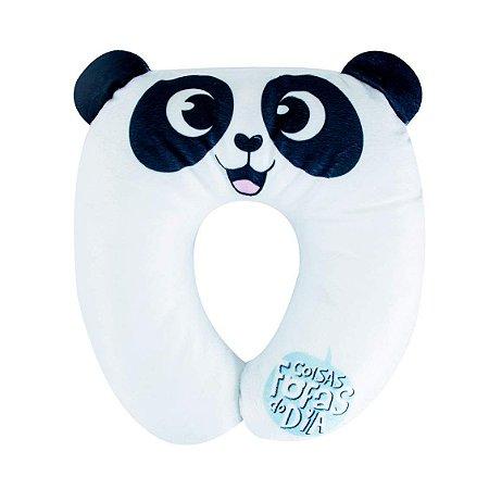 Almofada Pescoco Plush - Panda - Uatt