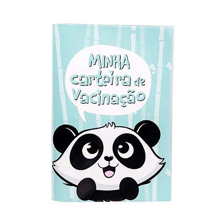 Porta Carteira Vacinação Panda