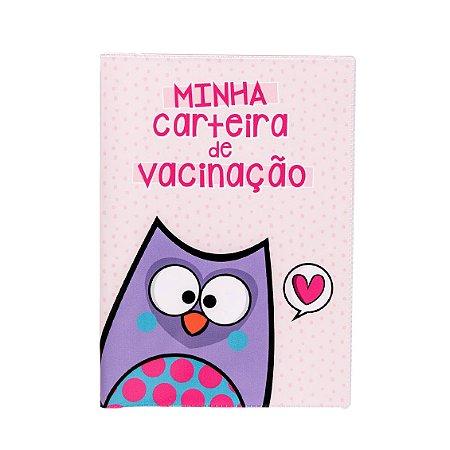 Porta Carteira Vacinaçao - Bubu E As Corujinhas