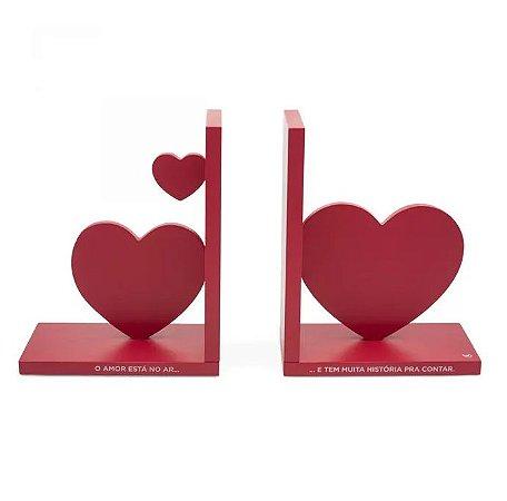 Porta Livros Amor No Ar - Ludi