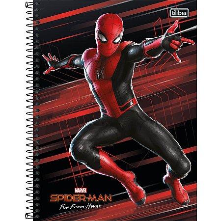 Caderno Universitário Spider-Man 10 Matérias - Tilibra