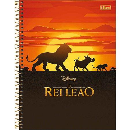 Caderno Univesrsitário Rei Leão 1 Matéria - Tilibra