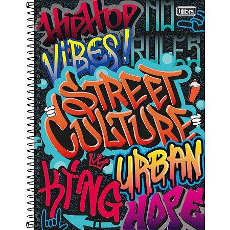 Caderno Universitário Graffiti 16 Matéria  - Tilibra