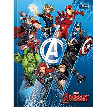 Caderno Brochura Universitário Avengers 48F - Tilibra
