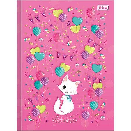 Caderno Brochura  1/4 Bichinhos 96F - Tilibra