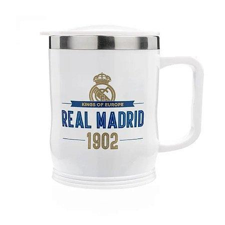 Caneca Para Viagem Real Madrid - Ludi