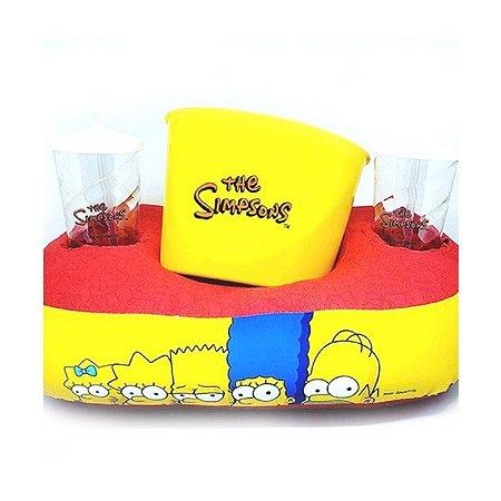 Kit Almofada Pipoca Simpsons - Zona Criativa