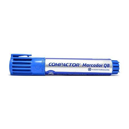 Marcador Quadro Branco  Azul - Compactor