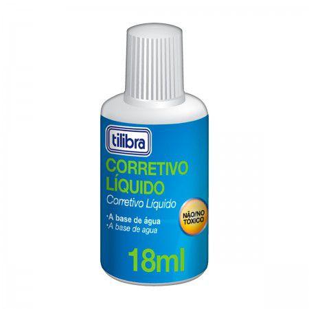 Corretivo Liquido 18ml - Tilibra