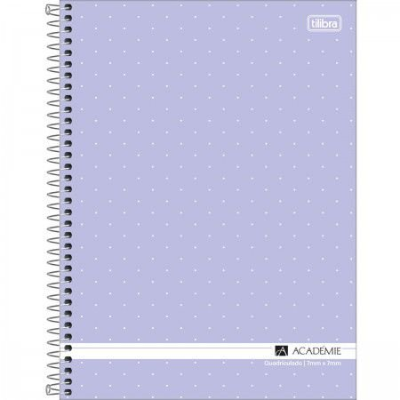 Caderno Universitário Quadriculado 7x7 - Tilibra