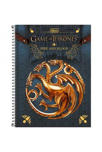 Caderno Universitário Game Of Thrones - Tilibra