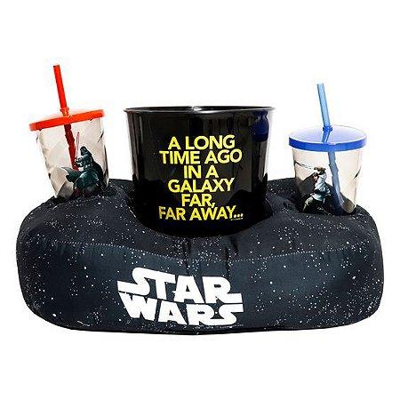Kit Almofada Pipoca Fibra Star Wars Galaxia - Zona Criativa