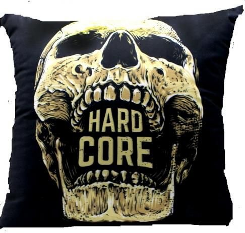 Almofada Veludo Hard Core - Zona Criativa