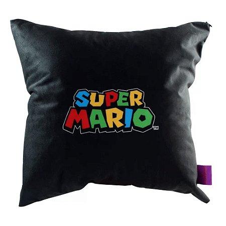 Almofada Veludo Super Mario World - Zona Criativa