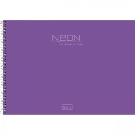 Caderno Cartografia Neon - Tilibra