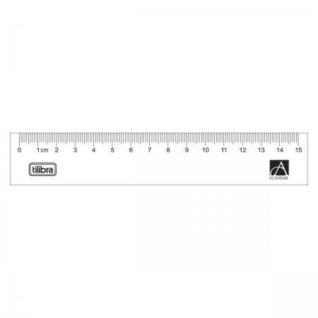 Régua Academie 15 cm - Tilibra