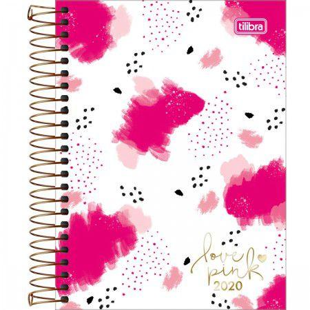 Agenda Espiral Love Pink 2020 - Tilibra