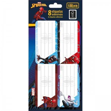 Etiqueta Adesiva Spider Man - Tilibra