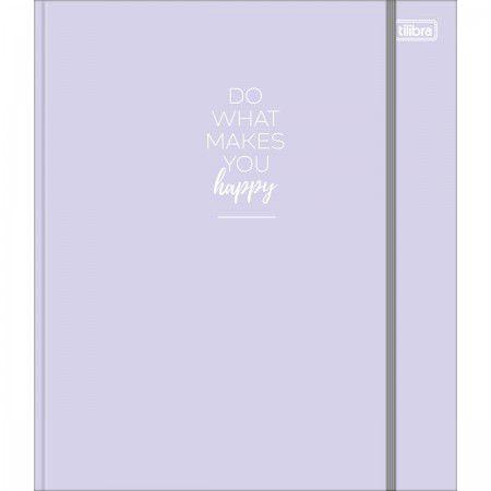 Caderno Argolado Colegial Happy - Tilibra