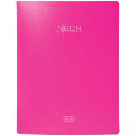 Fichário Neon Rosa - Tilibra