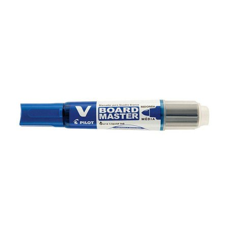 Pincel Quadro Branco Recarregável Azul - Pilot