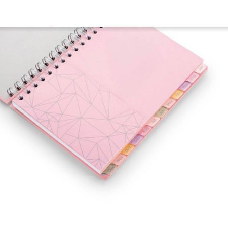 Planner Pink Stone  A5 Wire GM